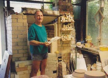 Les and the Kiln