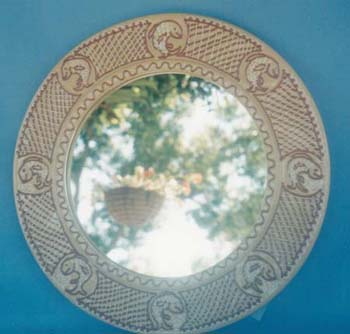 Mirror Slipware Dec