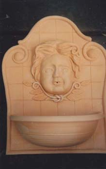 Terra Cotta Wall Fountain (2)